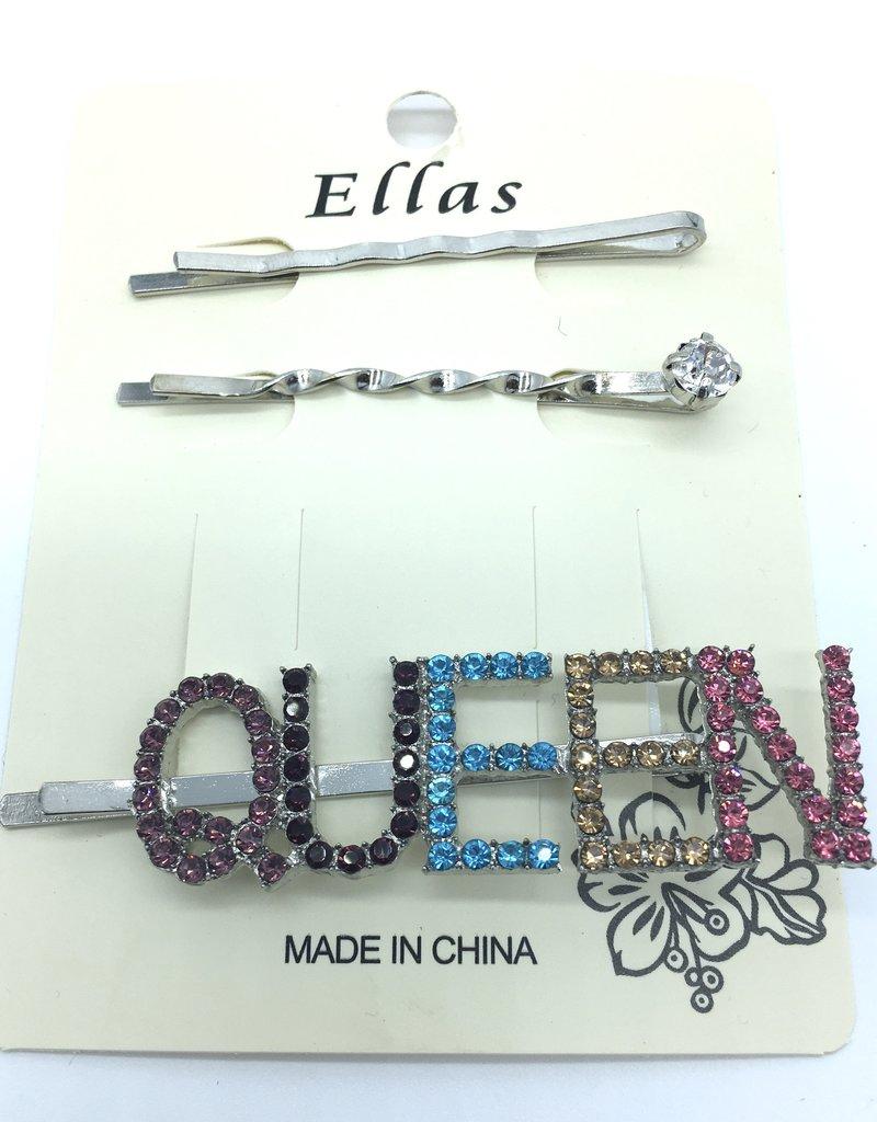 Queen Hair Pin Gold/Silver