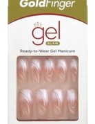 Gold Finger Gel Glam Ready To Wear Manicure 24 Count