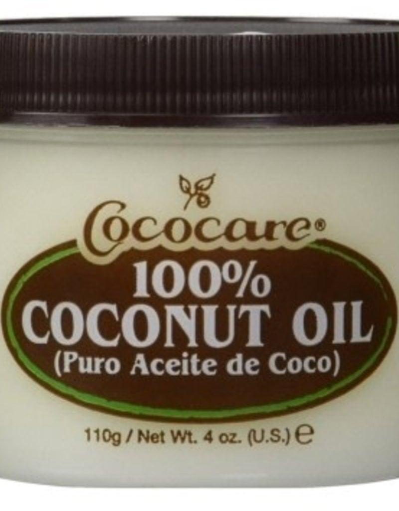 Cococare 100% Coconut Oil 4oz Jar