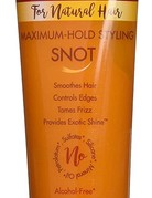 CREAM OF NATURE  ARGAN OIL FLEXIBLE STYLING SNOT