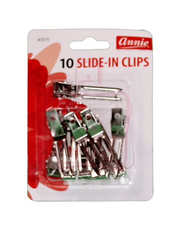 ANNIE PRONG SLIDE-IN CLIPS 10CT