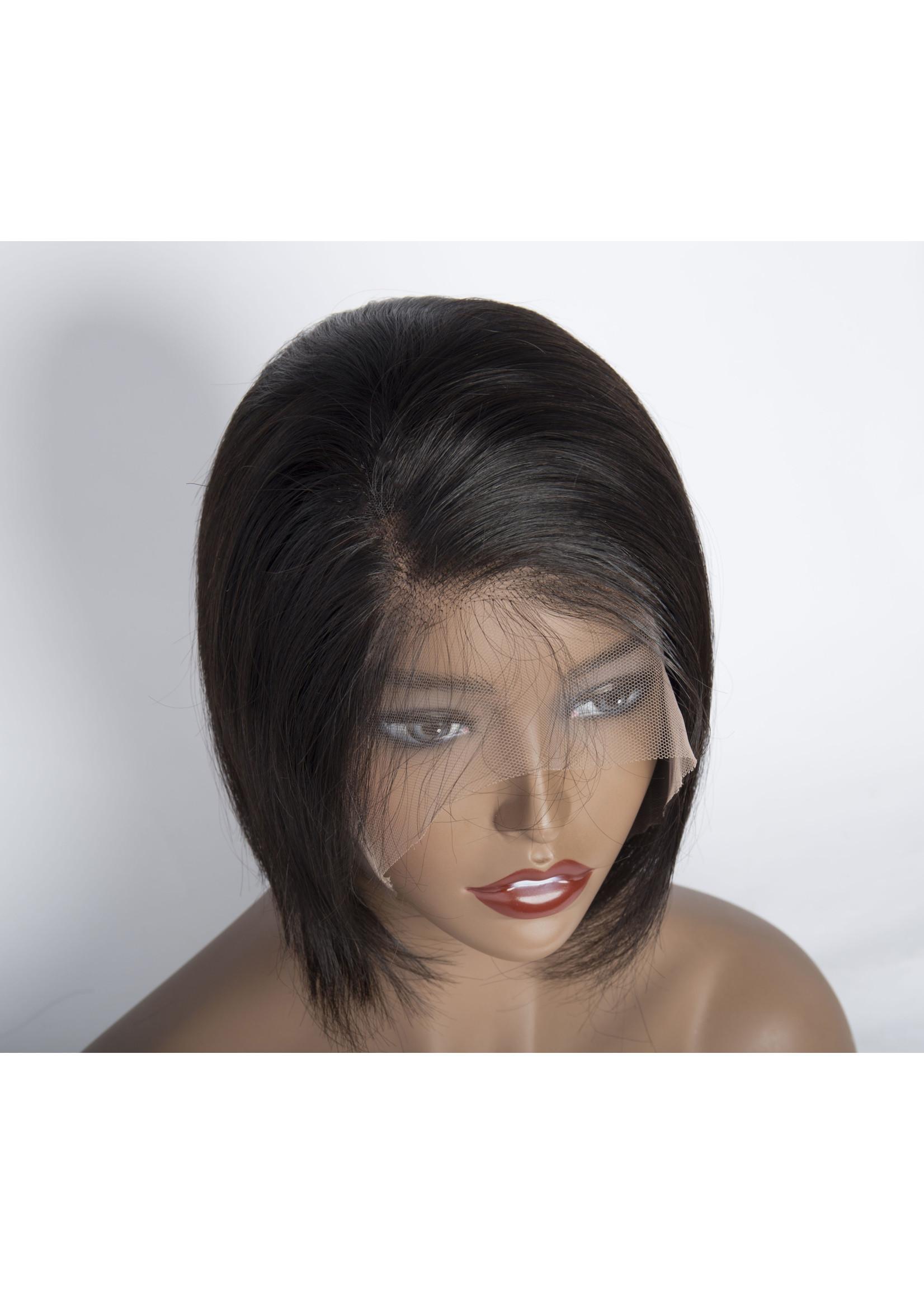 10A Grade 100% Human Hair Wigs Pixie Cut Short lace Brazilian