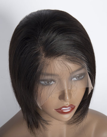 10A Grade 100% Human Hair Wigs Pixie Cut Short lace Brazilian