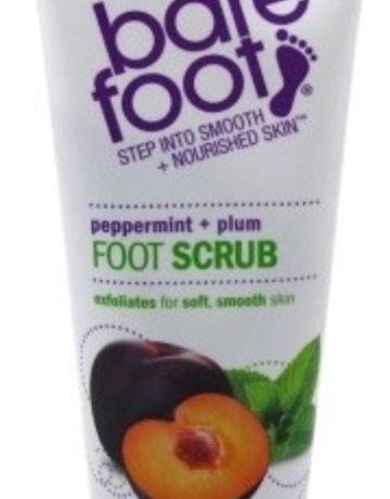Freeman Bare Foot Scrub 5.3oz Peppermint & Plum Cream Pumice
