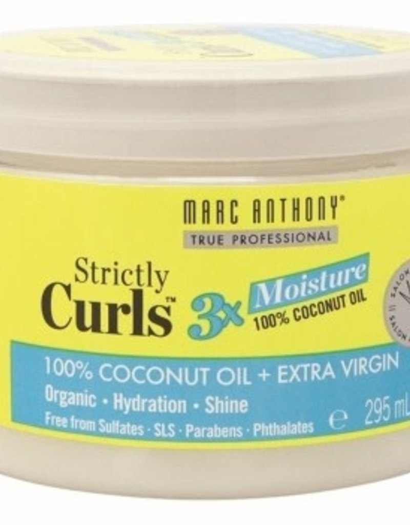 Marc Anthony Strictly Curls 3X Moisture 100% Coconut Oil 10oz