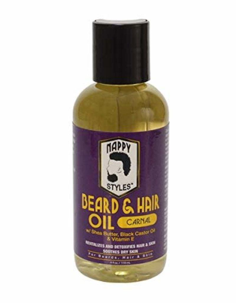 Nappy Styles Beard Oil 4oz