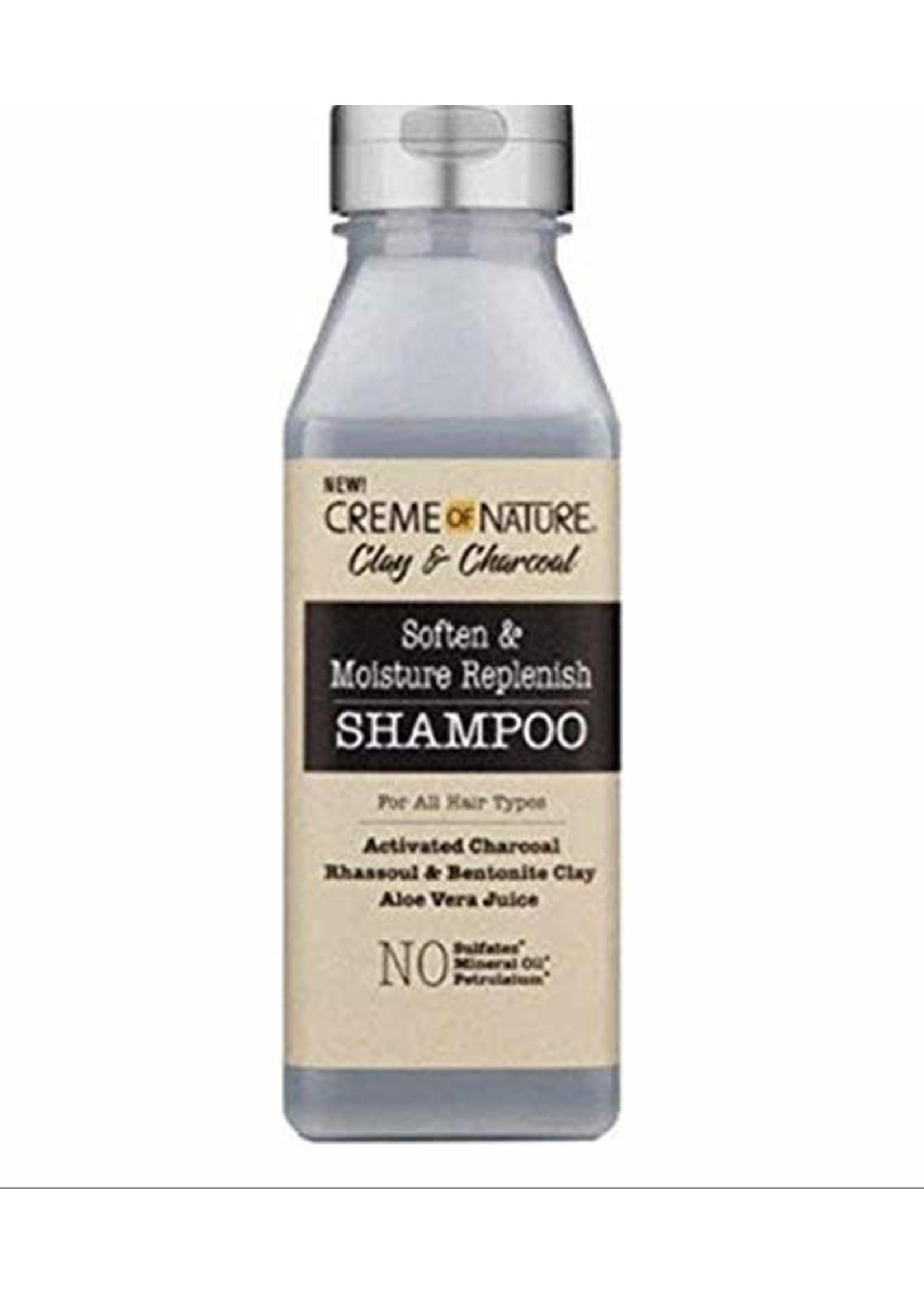 Cream of Nature Clay & Charcoal Shampoo