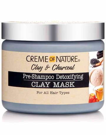 Cream of Nature Clay & Charcoal Mask 11.5
