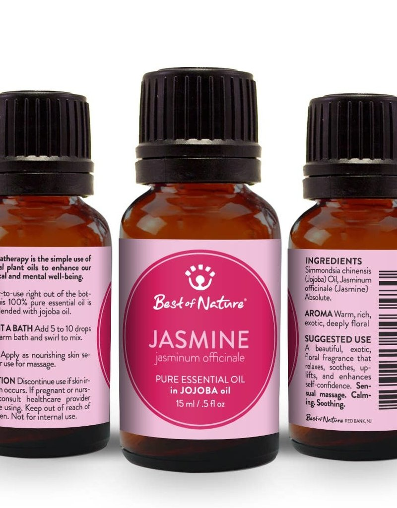 Jasmine Absolute Essent. Oil Blended w/Jojoba Oil
