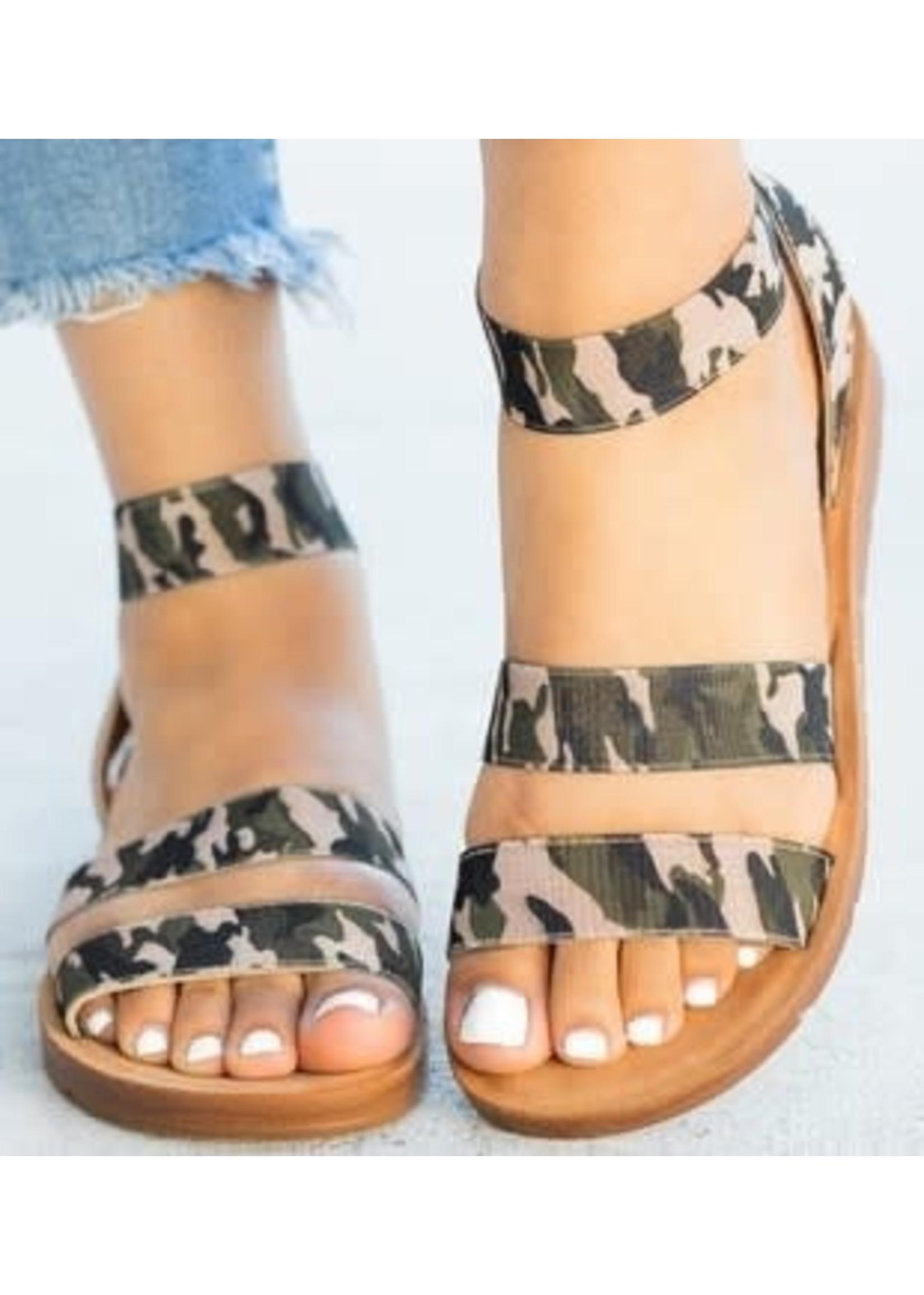 Camo Sandals