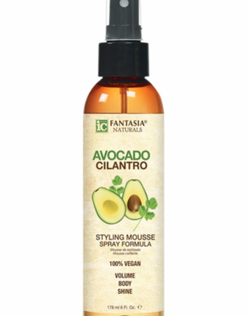IC Avocado Cilantro Styling Mousse Spray