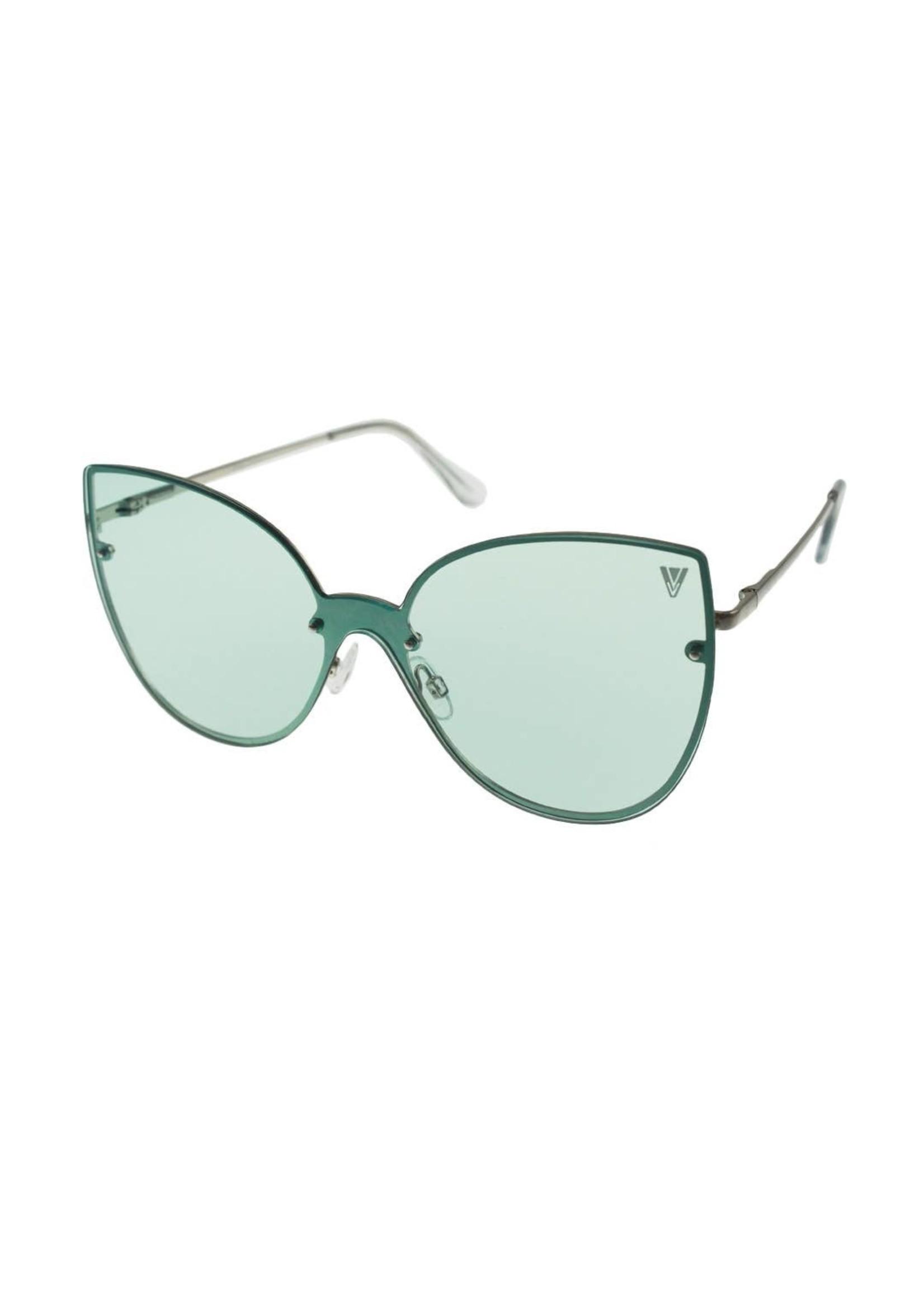 Kitty Womens Sunglasses Green