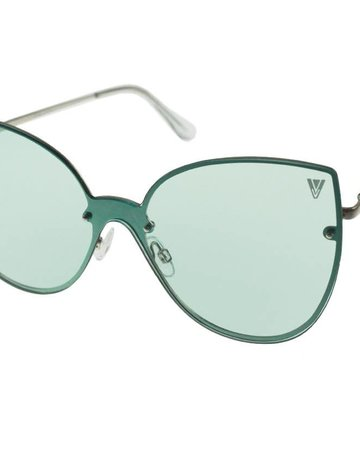 Kitty Womens Sunglasses Green