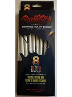 Graffetch Barber Pencils White