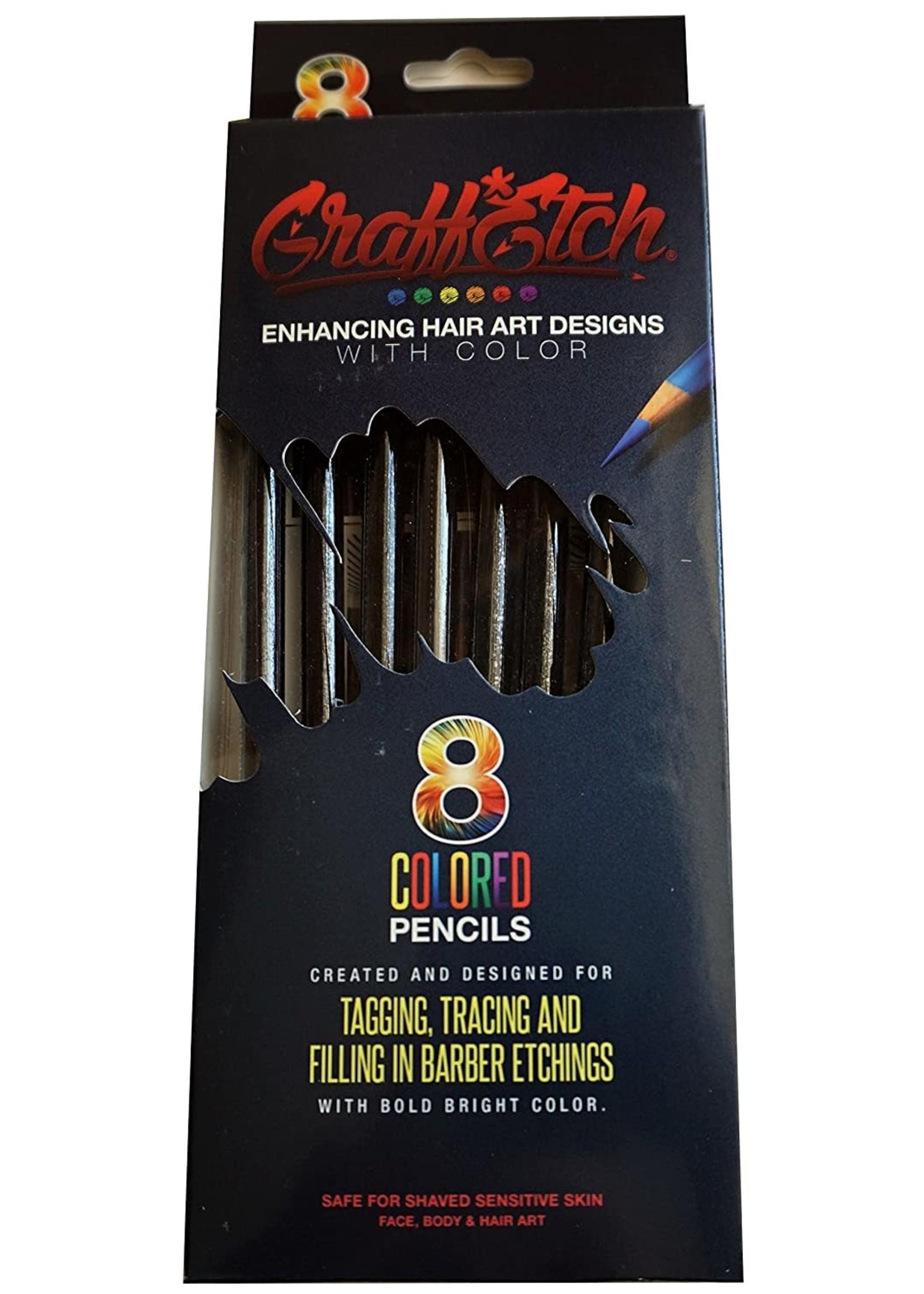 Graffetch Barber Pencils black