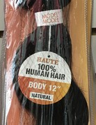 "Haute Bundle 12"" Body Human Hair"