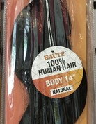 "Haute 14"" Bundle Body Human Hair"