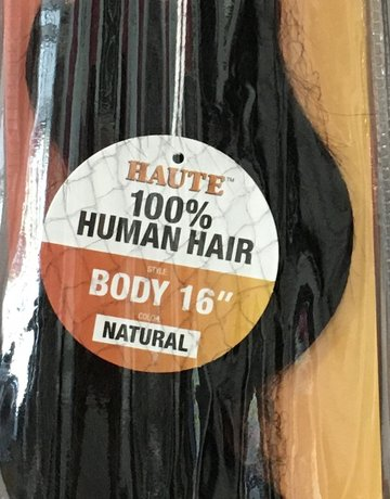 "Haute Bundle 16"" Human Hair Body"
