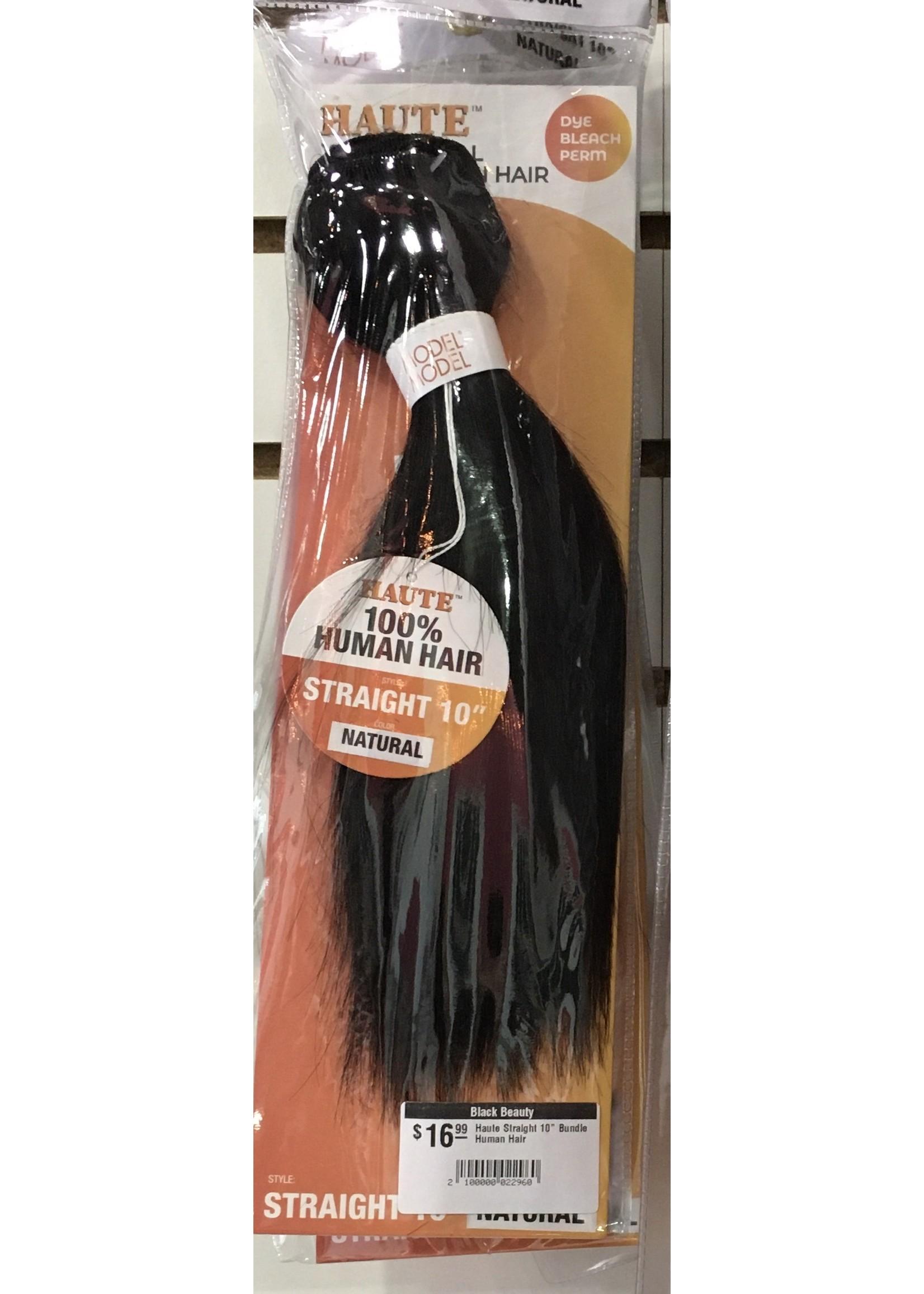 "Haute Straight 10"" Bundle  Human Hair"