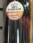 "Haute Straight Bundle 14""  Human Hair"