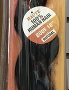 "Haute Bundle 18"" Human Hair Body"