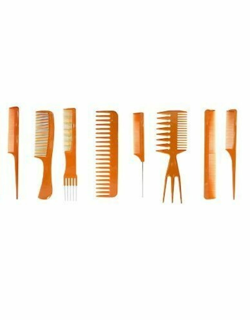 """Eden 7"""" Styling Comb And Brush Set (12Pk)"""