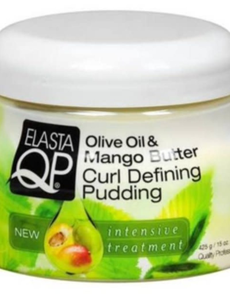 Elasta QP Olive Oil & Mango Butter Curl Defining Pudding