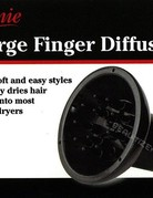 Annie Large Finger Hair Dryer Diffuser