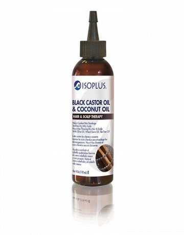 ISOPLUS Black Castor Oil & Coconut Hair & Scalp Therapy