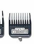 Andis 7 piece clip comb set