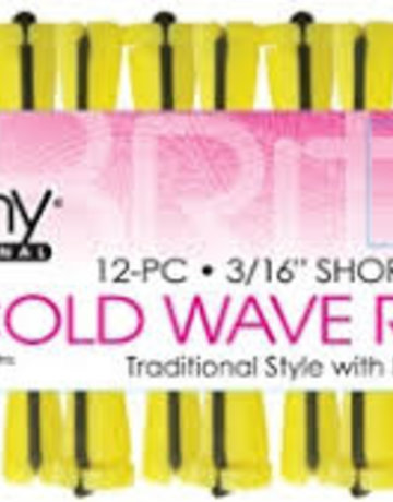 Cold Wave Rods Short Yellow