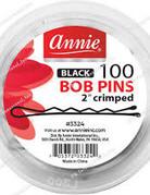 Annie Bob Pins Black 100ct Jar
