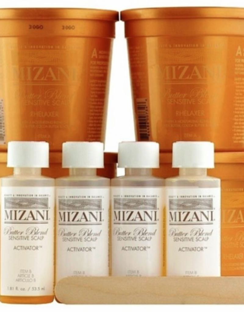 Mizani Sensitive Scalp Relaxer Kit 4 in a pack