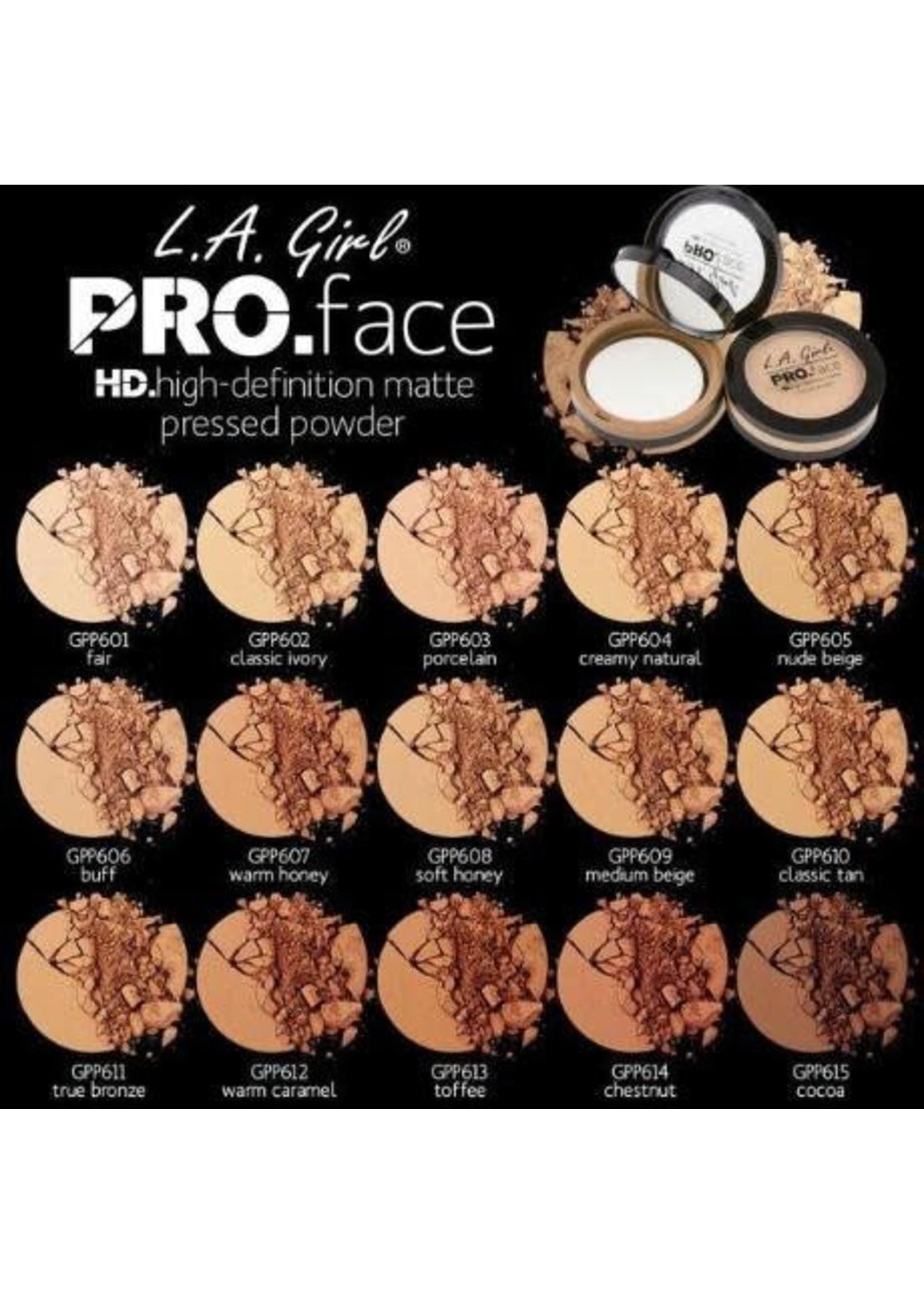 La Pro Face Pressed Powder