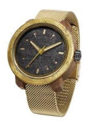 Marco XL Gold Pui Brass Watch-Mistura Watch