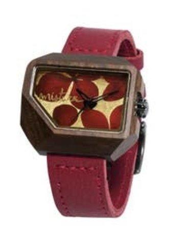 Juno Red Flowers Pui Watch - Mistura