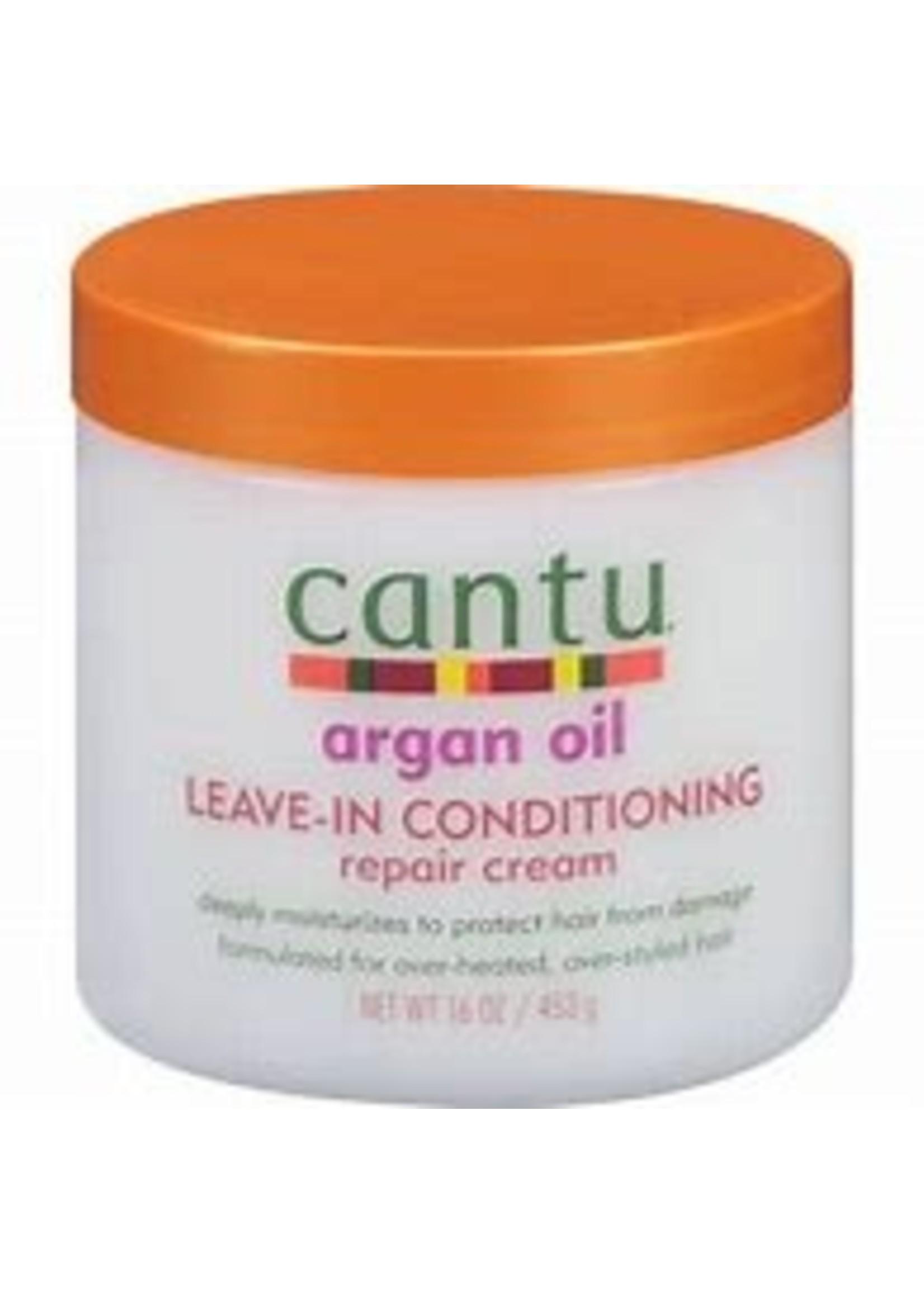 Cantu Argan Oil Leave In Conditioner 16oz