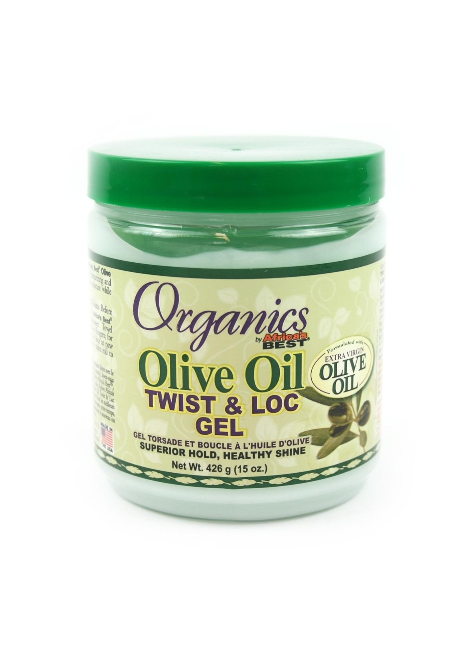African Best A/BEST ORG OLIVE OIL TWIST & LOC GEL
