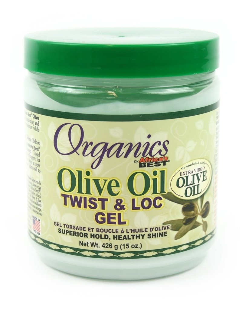 African Best A/BEST ORG OLIVE OIL TWIST & LOC GEL
