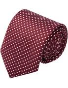 Pretty Simple Hair-Tie Scarf Polka Dot Red