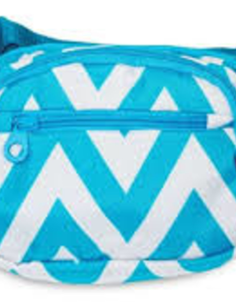 luggage 1004 waist pack chevron turq