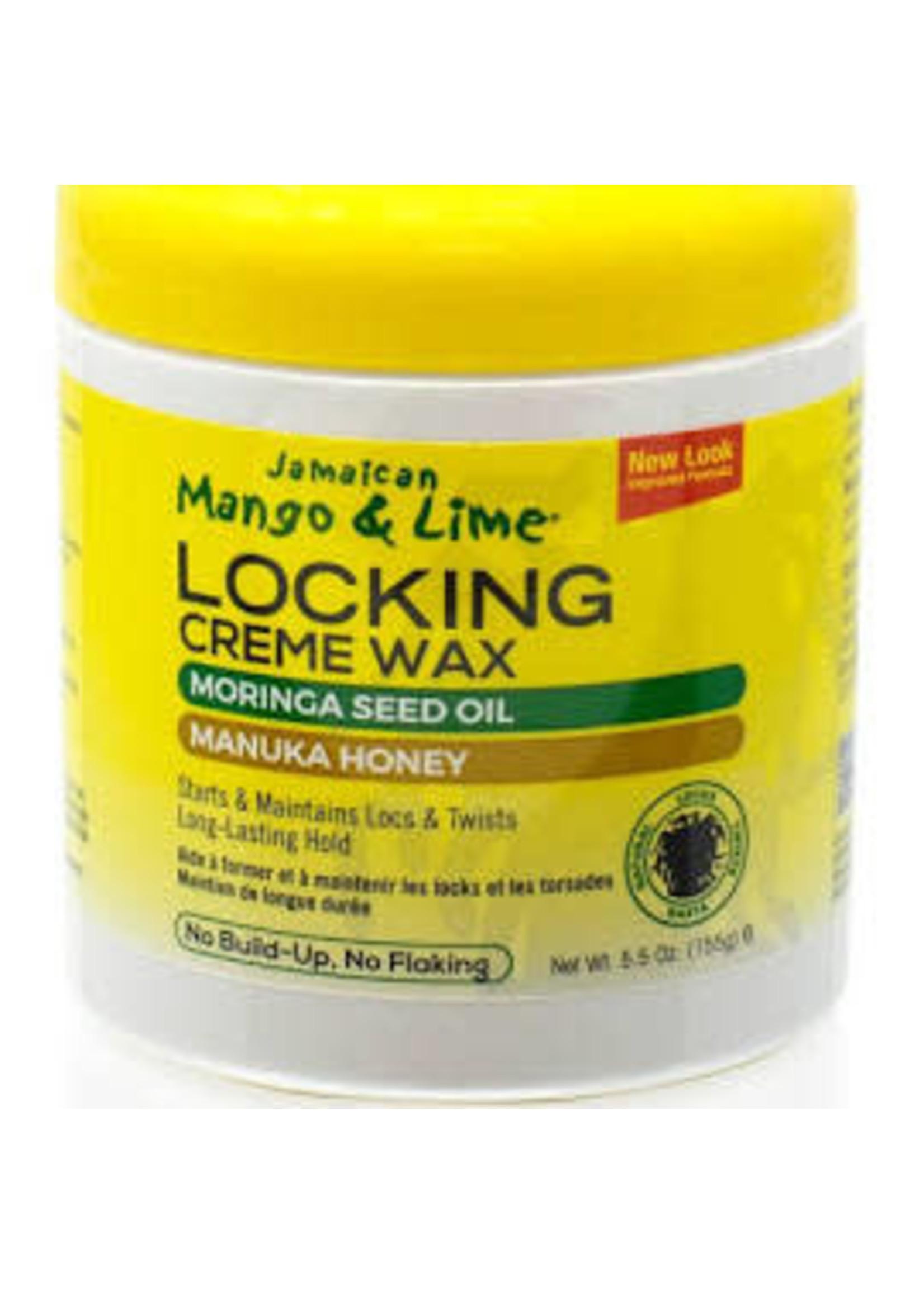 Jamaican Mango Lime Locking Creme Wax Moringa Seed Oil & Manuka Honey 5.5oz