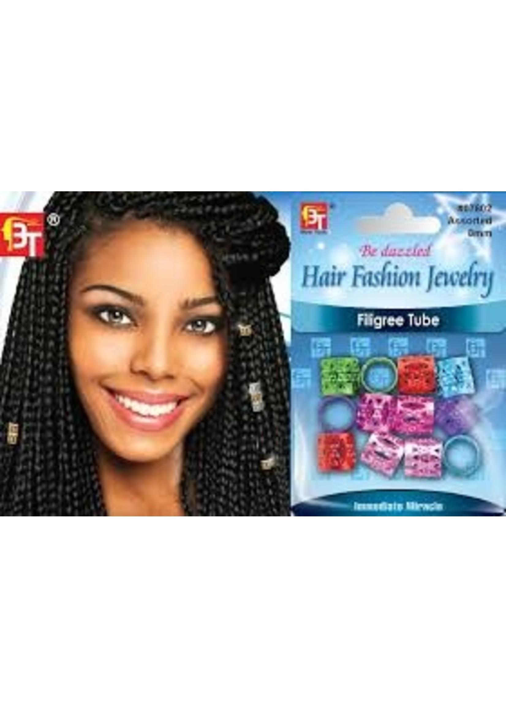 Hair Braid Ring Colorful