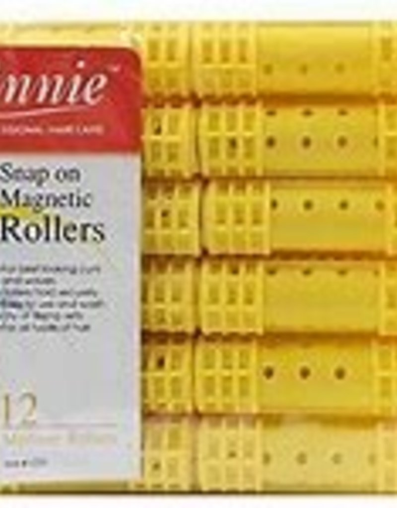 Annie Medium Yellow Snap On Magnetic