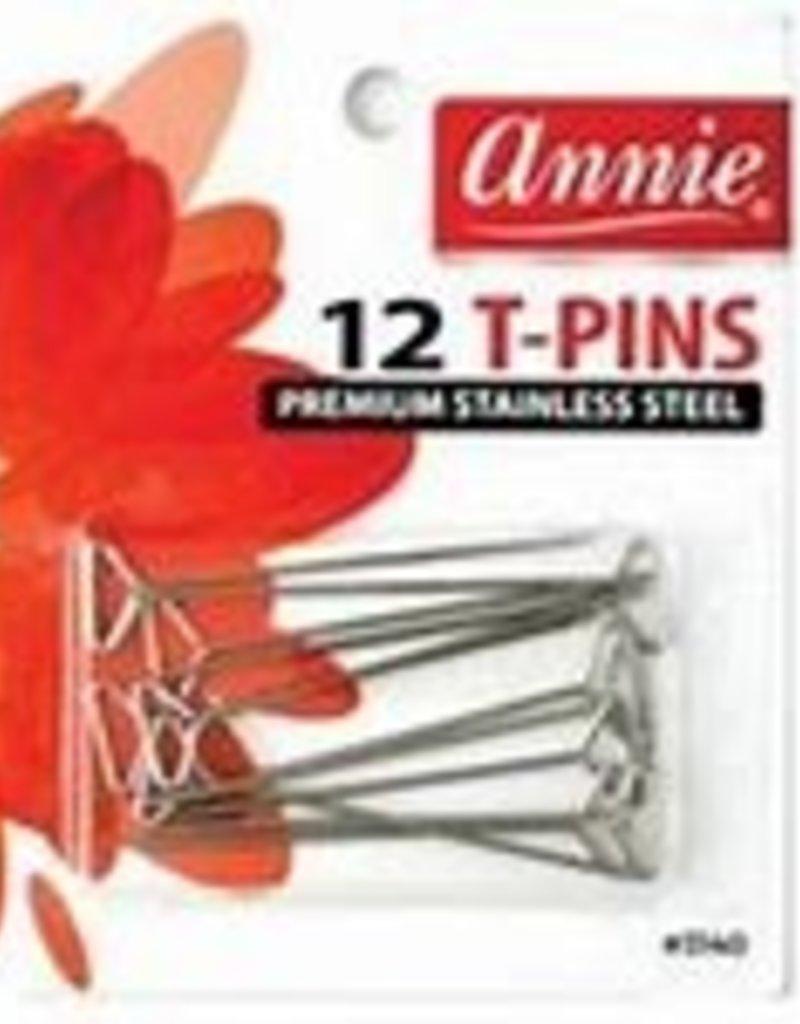 Annie T Pins 12 pc