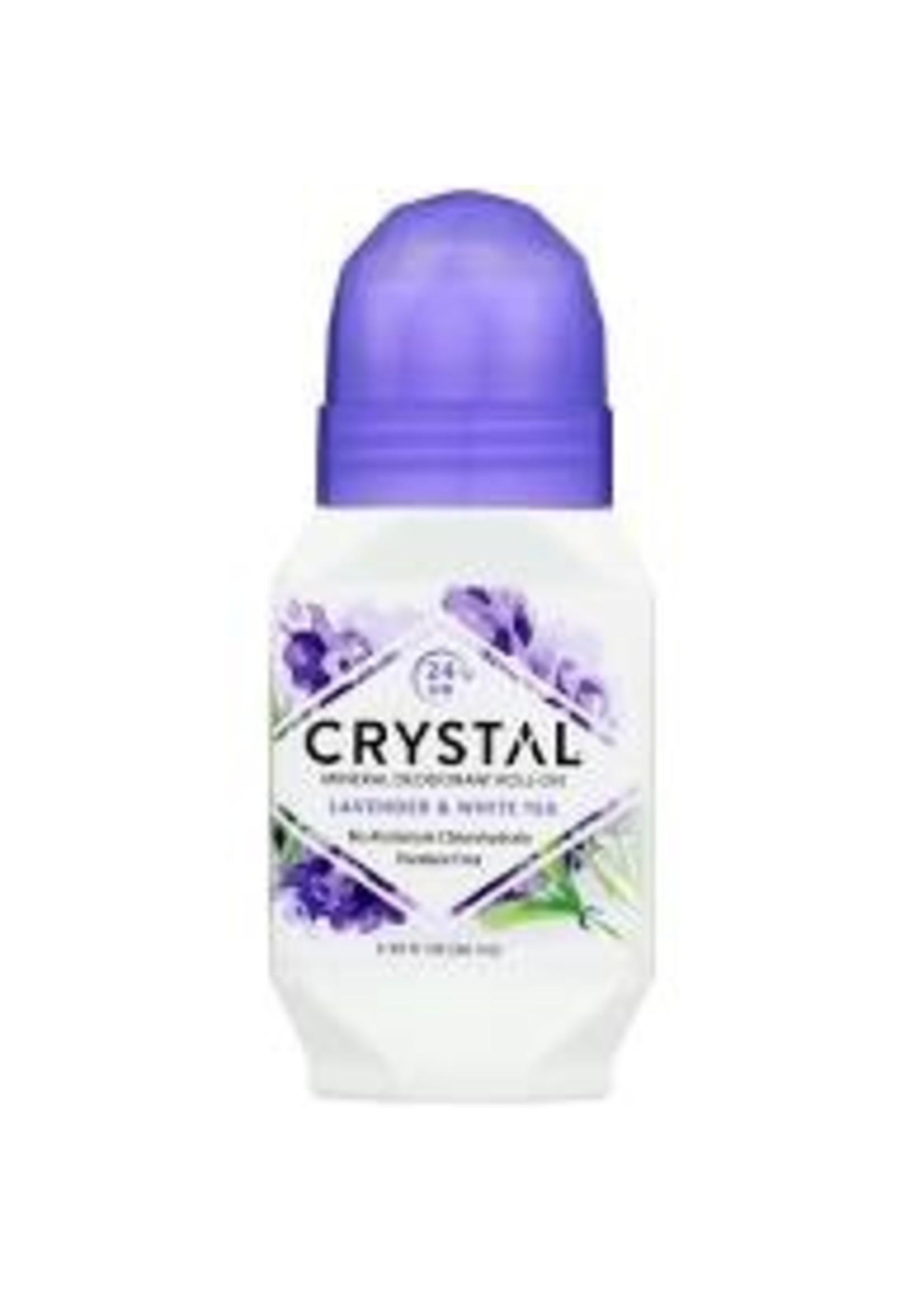 rystal Deordorant Roll on Lavender/White Tea