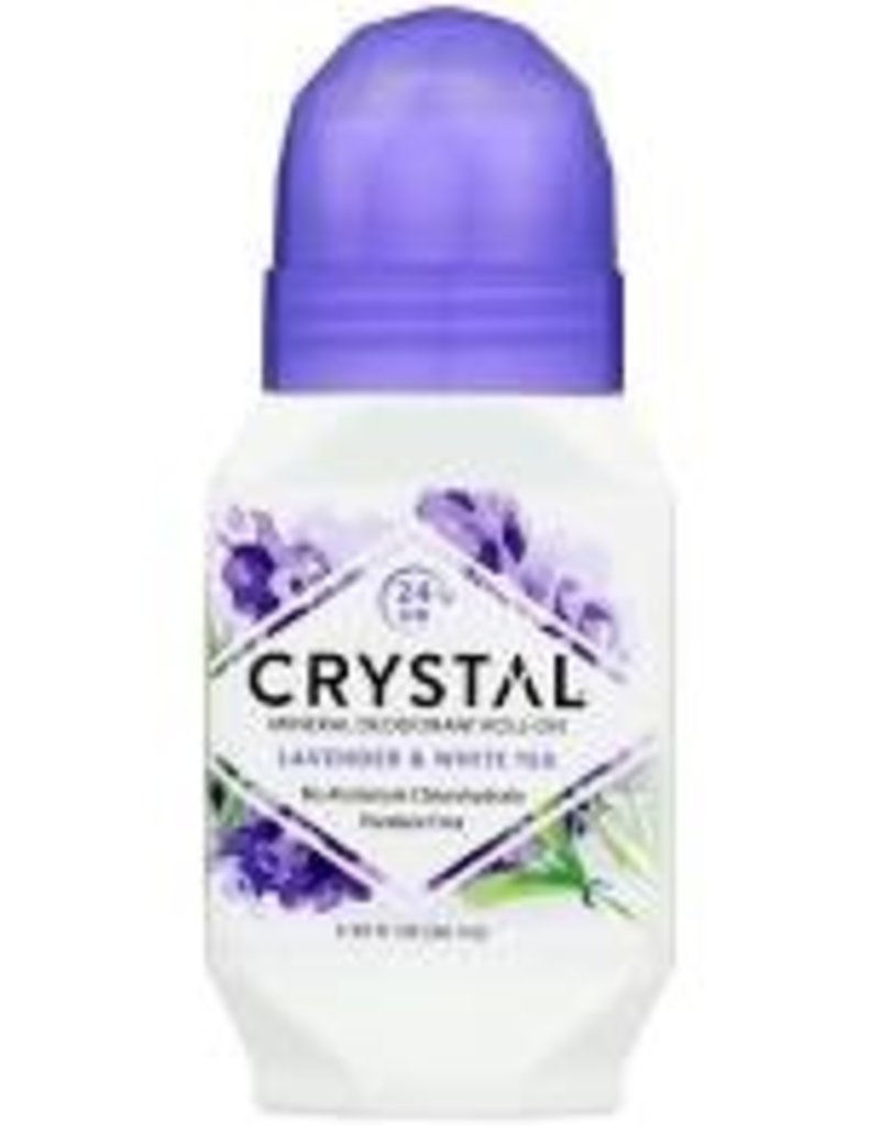rystal Deordorant Roll on Lavender/White Tea