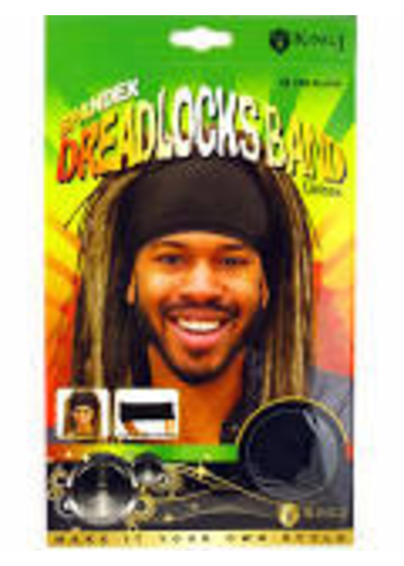 M&M Headgear Spandex Dreadlocks Band