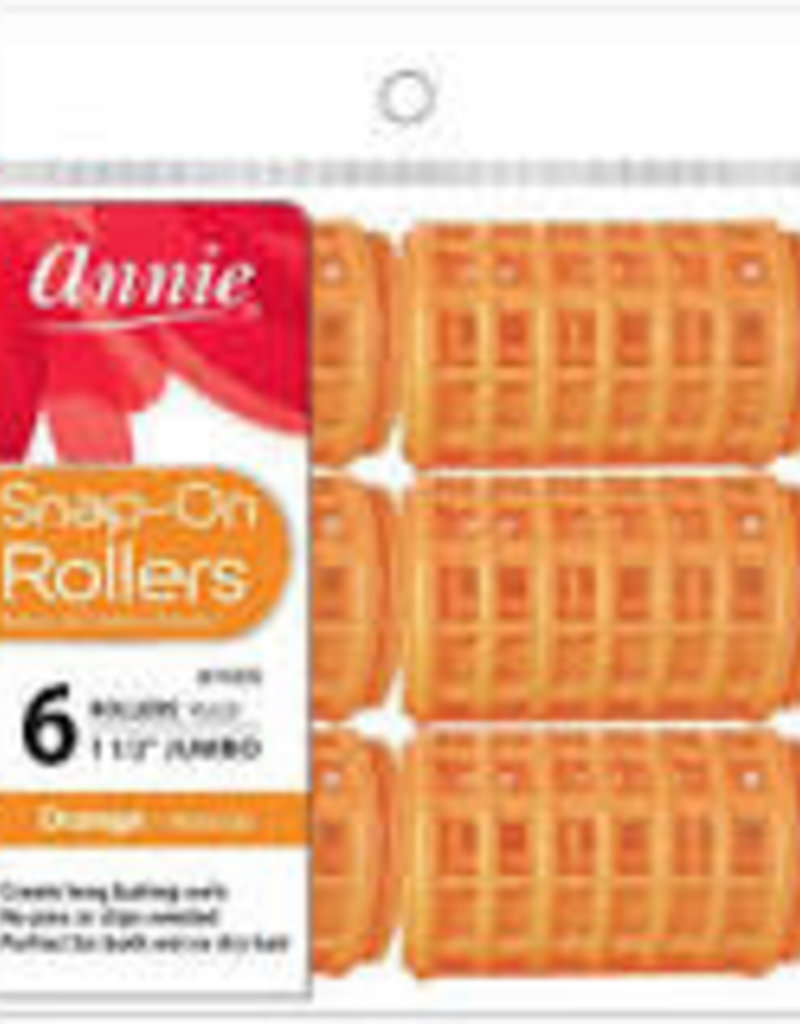 Annie Rollers Snap On Orrange