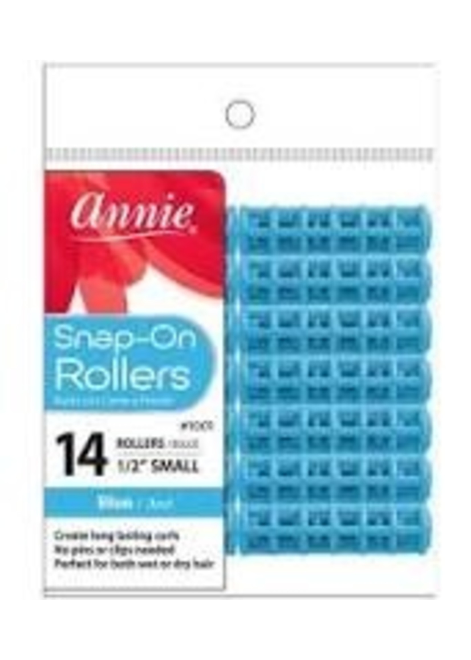 Annie Rollers Snap-On Blue 14ct